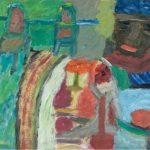 """Jacek Szwagrzyk, """"Przy stole"""", wyróżnienie"""